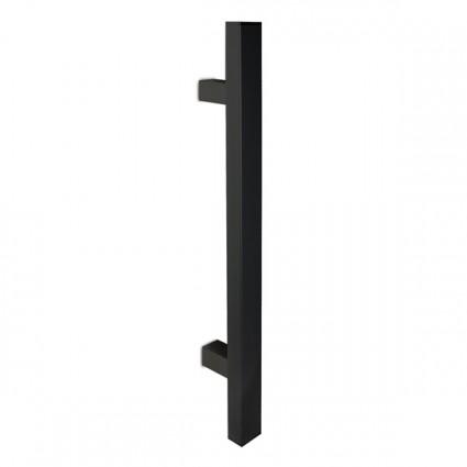 dveřní madlo Design inox 1031 černé - 400 mm