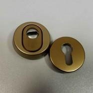 7156 F4 bezpečnostní rozety kulaté 15 mm - bronz