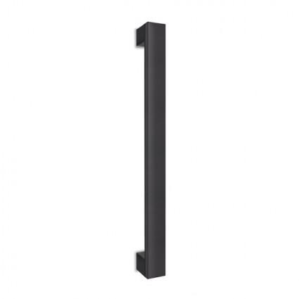 dveřní madlo Design alu 989 černé - 500/460 mm