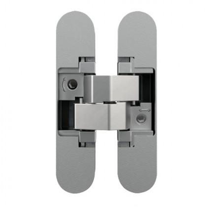 skryté panty AN160 3D nastavitelné protipožární chrom mat
