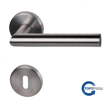 objektové kování Ronny II - R nerez (ušlechtilá ocel matná) - 3. třída použití (200.000 cyklů)