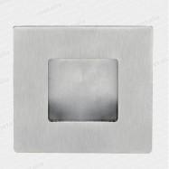 mušle 01023 M15 50x50 mm - nerez matný (nerez)