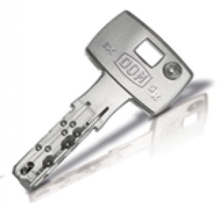 bezpečnostní klíč DOM ix 6SR plus - dodatečně