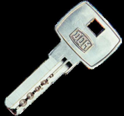 bezpečnostní klíč DOM ix 5 - dodatečně