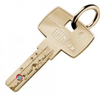 bezpečnostní klíč DOM ix 5KG - dodatečně
