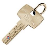 bezpečnostní klíč DOM ix 6KG