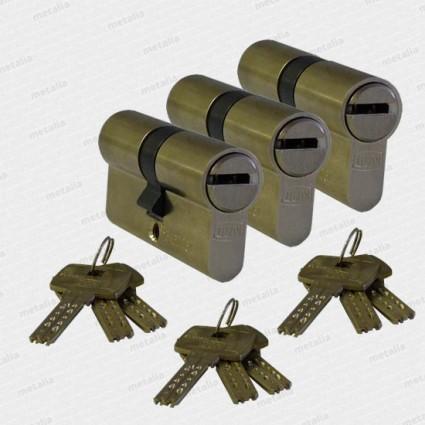 bezpečnostní cylindrická vložka DOM ix-10 - 3x SU