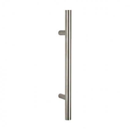 madlo Tesero - přímé ø30mm délka 800mm rozteč 600 mm nerez (nerez)