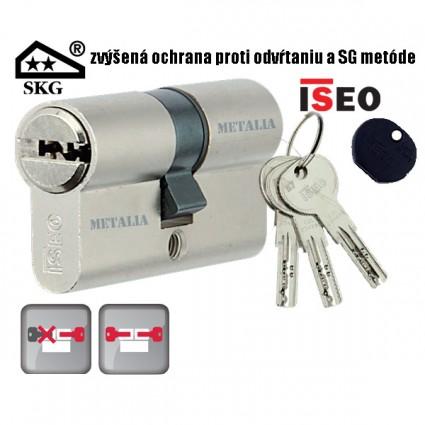 bezpečnostní cylindrická vložka ISEO R6 SKG** 30/55 mm