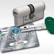 bezpečnostní cylindrická vložka Champion C30