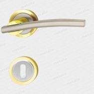 klika - Galatea M1/M9 - mosaz zlatá leštěná/nikl matný