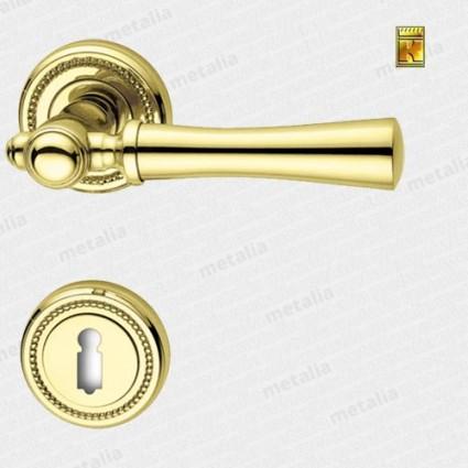 klika - Rossetti Carlo R M1 - mosaz zlatá leštěná