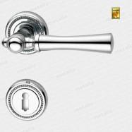 klika - Rossetti Carlo R M4 - mosaz chrom leštěný