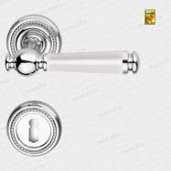 klika - Rossetti Encrico R M4/porcelán - mosaz chrom leštěný