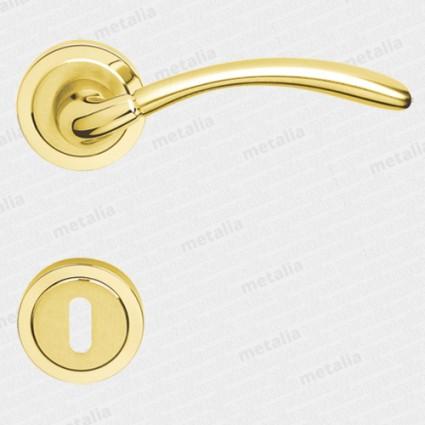 klika - Rossetti Klotho 2 M1/M2 - mosaz zlatá leštěná/matná