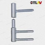 panty 100/15 mm - zinek (spodný diel do zárubne)