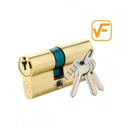cylindrická vložka VF 30/40mm mosaz - 3 klíče