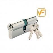 cylindrická vložka VF 25/35mm nikl - 3 klíče